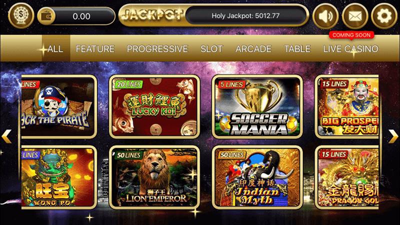 Slot Games At Sky777 Online Casinos