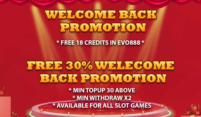 iwinclub welcome back promotion